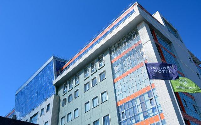 Гостиница Триумф Отель в Обнинске 2 отзыва об отеле, цены и фото номеров - забронировать гостиницу Триумф Отель онлайн Обнинск вид на фасад