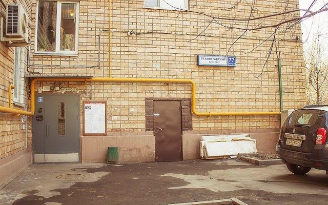 Гостиница MaxRealty24 Ленинградский проспект 77 к 1 парковка