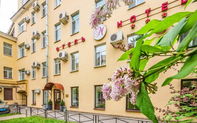 Гостиница М-Отель в Санкт-Петербурге - забронировать гостиницу М-Отель, цены и фото номеров Санкт-Петербург вид на фасад