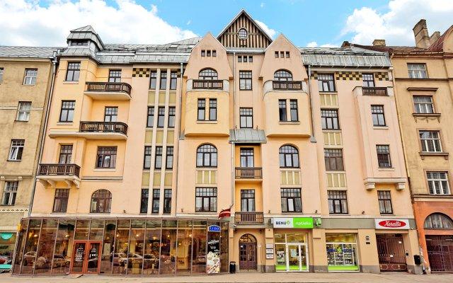 Отель Rigaapartment Gertruda вид на фасад