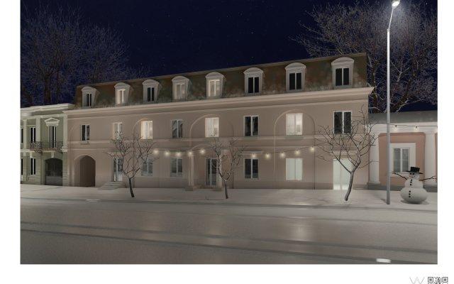 Гостиница City Bortoli вид на фасад