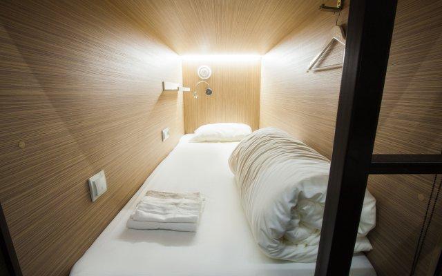 Гостиница Buran Capsule комната для гостей