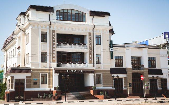Гостиница Волга в Энгельсе отзывы, цены и фото номеров - забронировать гостиницу Волга онлайн Энгельс вид на фасад