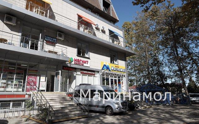 Гостиница Маринамол в Сочи отзывы, цены и фото номеров - забронировать гостиницу Маринамол онлайн вид на фасад