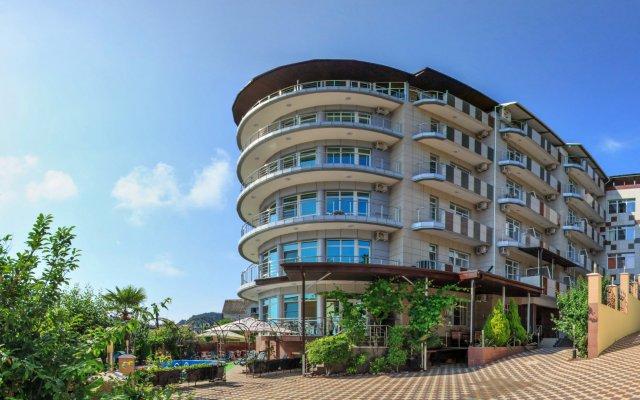 Гостиница МиЛоо в Сочи 2 отзыва об отеле, цены и фото номеров - забронировать гостиницу МиЛоо онлайн вид на фасад