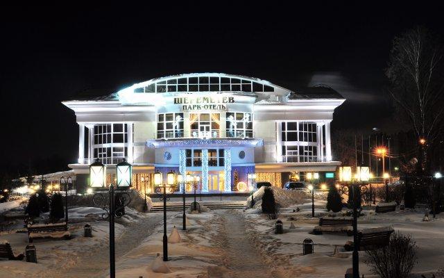 Гостиница Шереметев Парк Отель в Иваново 2 отзыва об отеле, цены и фото номеров - забронировать гостиницу Шереметев Парк Отель онлайн вид на фасад