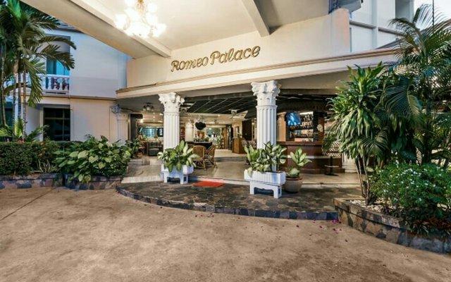 Отель Romeo Palace Таиланд, Паттайя - 10 отзывов об отеле, цены и фото номеров - забронировать отель Romeo Palace онлайн вид на фасад