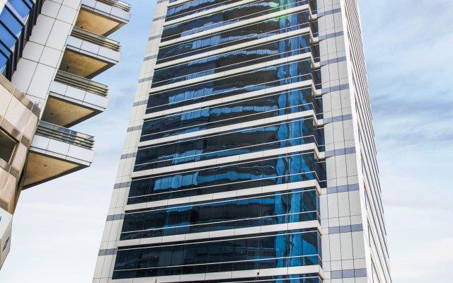 Отель The ACT Hotel - Sharjah ОАЭ, Шарджа - отзывы, цены и фото номеров - забронировать отель The ACT Hotel - Sharjah онлайн вид на фасад