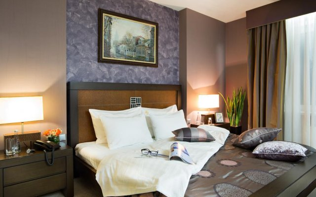 Гостиница Двухместный номер Делюкс с 1 кроватью комната для гостей