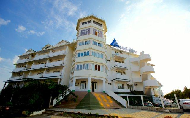 Мини-отель Пансионат Белый парус вид на фасад