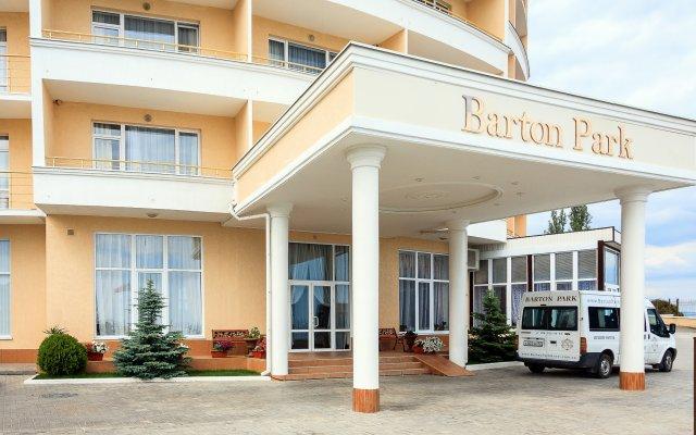 Гостиница Barton Park в Алуште 8 отзывов об отеле, цены и фото номеров - забронировать гостиницу Barton Park онлайн Алушта вид на фасад