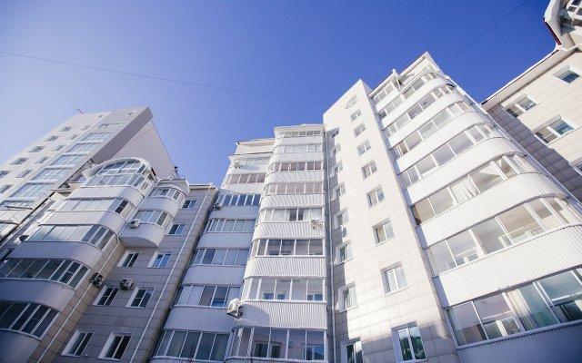 Гостиница на Папанинцев 119 в Барнауле отзывы, цены и фото номеров - забронировать гостиницу на Папанинцев 119 онлайн Барнаул вид на фасад