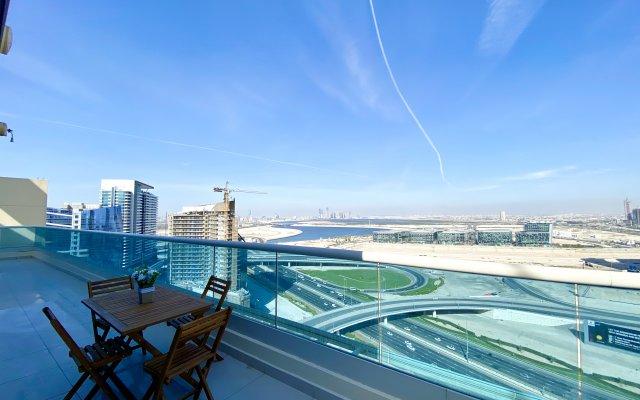 Апартаменты 1 Bedroom Penthouse With Terrace Panoramic Views 1