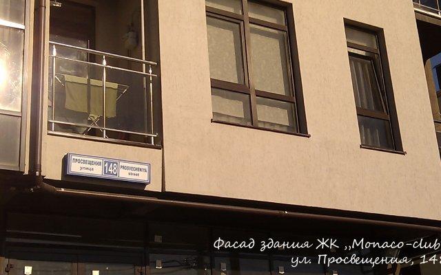 Гостиница Монако-Клуб в Сочи отзывы, цены и фото номеров - забронировать гостиницу Монако-Клуб онлайн вид на фасад