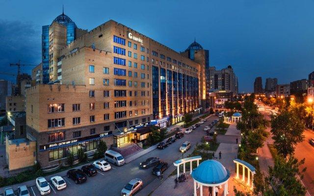 Гостиница G Empire Казахстан, Нур-Султан - 9 отзывов об отеле, цены и фото номеров - забронировать гостиницу G Empire онлайн вид на фасад