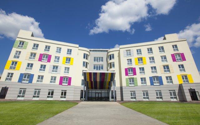 Гостиница Берега вид на фасад
