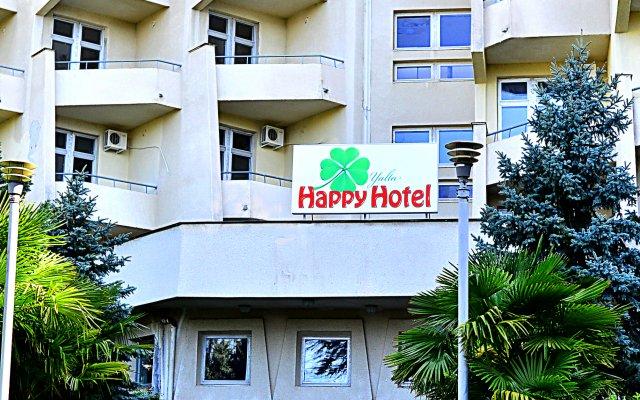 Гостиница Хэппи вид на фасад
