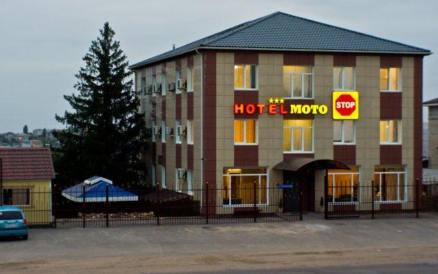 Гостиница МотоСтоп вид на фасад