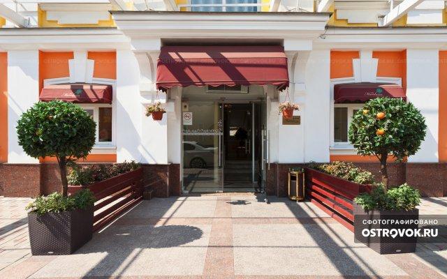 Гостиница Мандарин Москва в Москве - забронировать гостиницу Мандарин Москва, цены и фото номеров вид на фасад