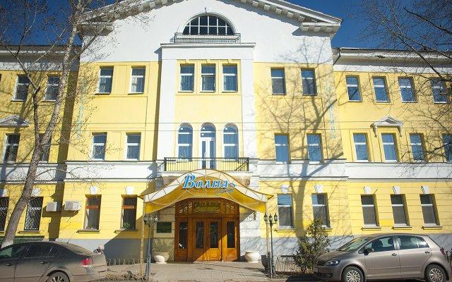 Гостиница Волна вид на фасад