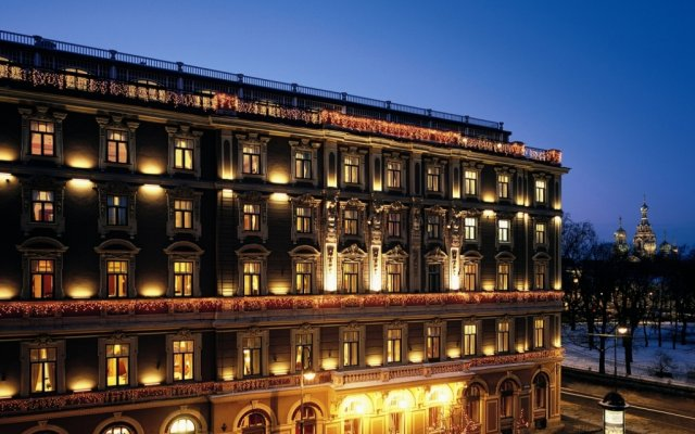 Гранд Отель Европа вид на фасад