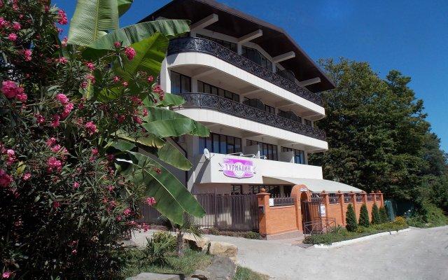 Гостиница Гостевые комнаты Турмалин в Сочи 5 отзывов об отеле, цены и фото номеров - забронировать гостиницу Гостевые комнаты Турмалин онлайн вид на фасад