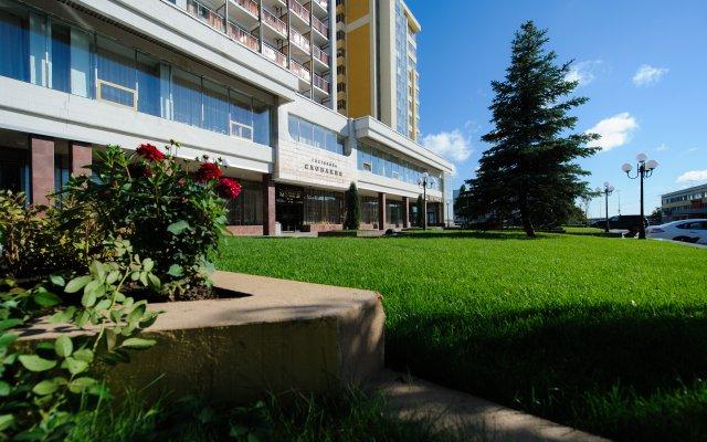 Гостиница Словакия в Саратове - забронировать гостиницу Словакия, цены и фото номеров Саратов вид на фасад