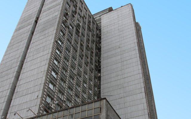 Гостиница Максима Панорама Москва вид на фасад