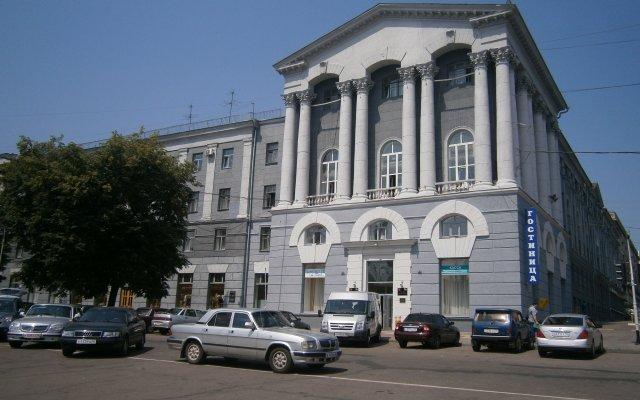 Отель Центральная Ливны Курск вид на фасад