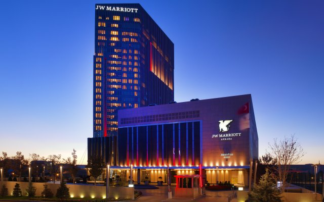 Jw Marriott Hotel Ankara вид на фасад
