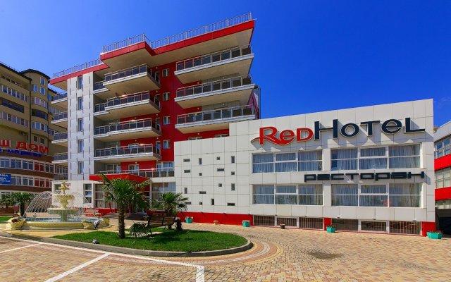Гостиница Red в Анапе 3 отзыва об отеле, цены и фото номеров - забронировать гостиницу Red онлайн Анапа вид на фасад