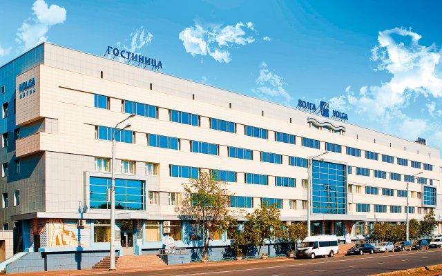 Гостиница Волга вид на фасад