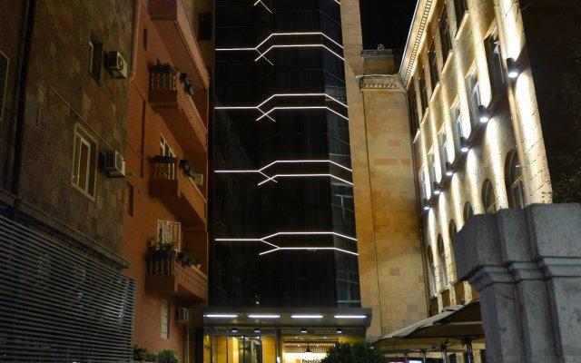 Отель Република вид на фасад