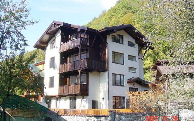 Гостиница Дом Шалле Березовая вид на фасад