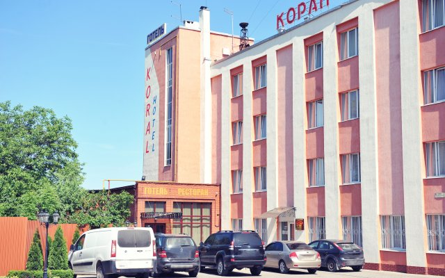 Гостиница Коралл парковка