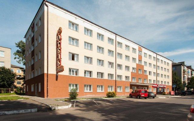 Амакс Визит Отель вид на фасад