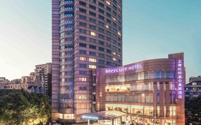 Отель Mercure Shanghai Royalton вид на фасад