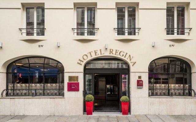 Отель Hôtel Regina Opéra Grands Boulevards вид на фасад