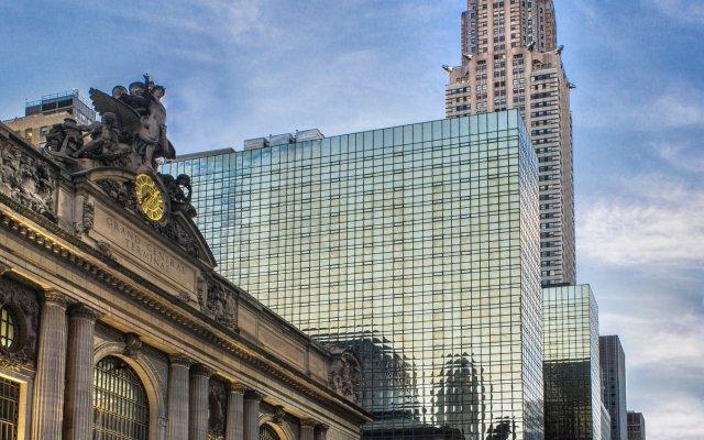 Отель Grand Hyatt New York США, Нью-Йорк - 1 отзыв об отеле, цены и фото номеров - забронировать отель Grand Hyatt New York онлайн внешний экстерьер