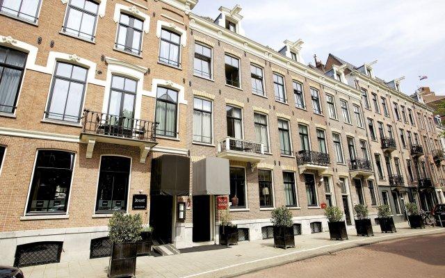 Отель Catalonia Vondel Amsterdam вид на фасад