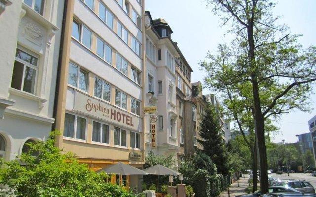 Sophien Hotel Frankfurt вид на фасад
