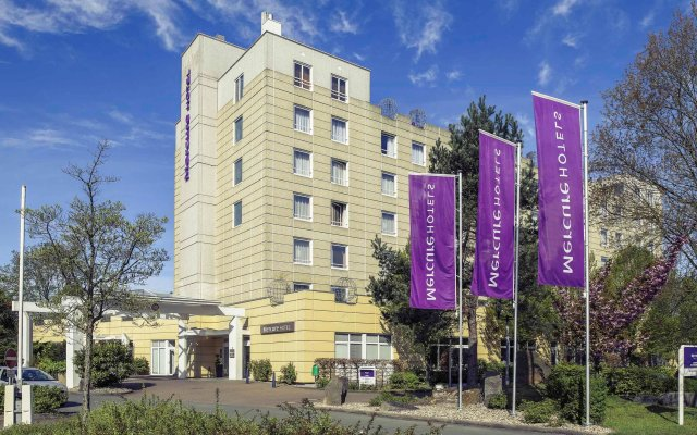 Mercure Hotel Hannover Oldenburger Allee вид на фасад