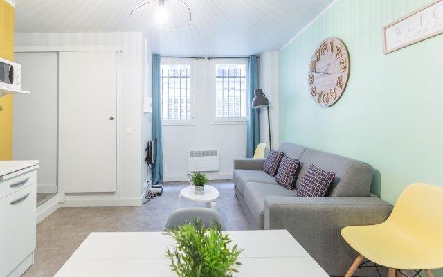 Апартаменты Apartment Ws Hôtel De Ville – Le Marais Париж комната для гостей