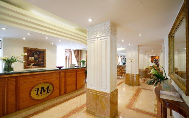 Best Western Hotel Mozart ресепшен
