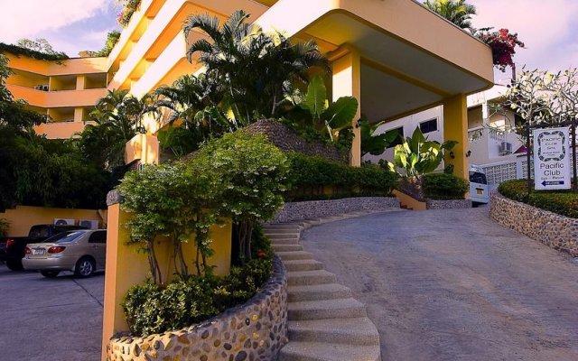 Отель Pacific Club Resort вход в здание