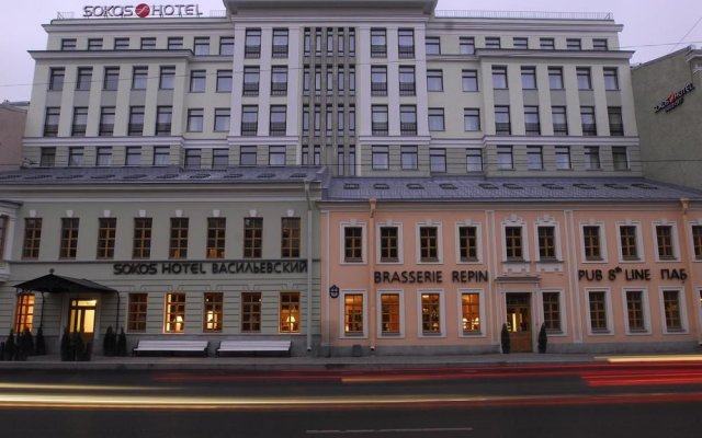 Гостиница Solo Sokos Vasilievsky экстерьер