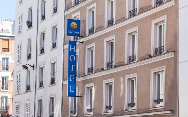 Comfort Hotel Lamarck Paris France