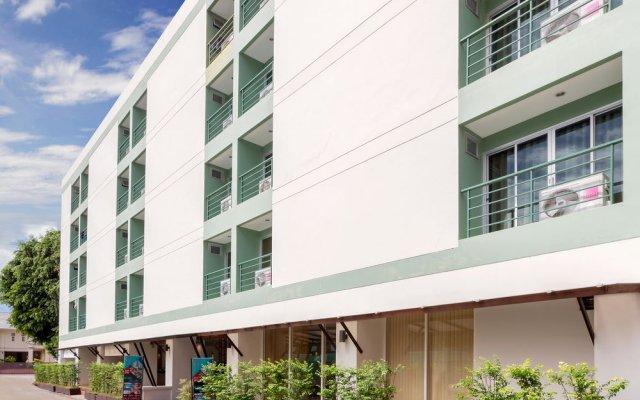 Отель Patong Bay Residence вид на фасад