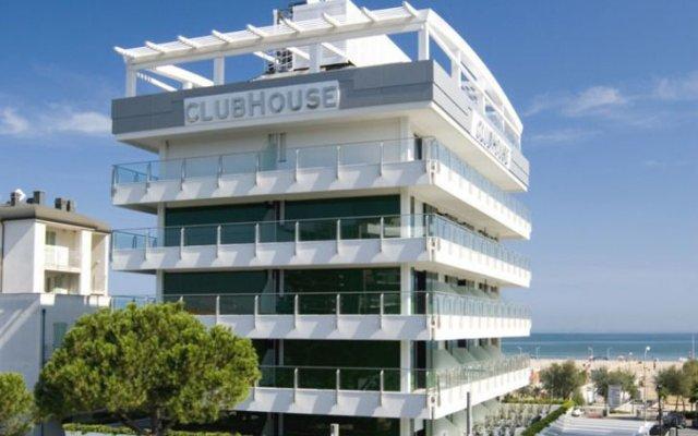 Hotel Club House вид на фасад