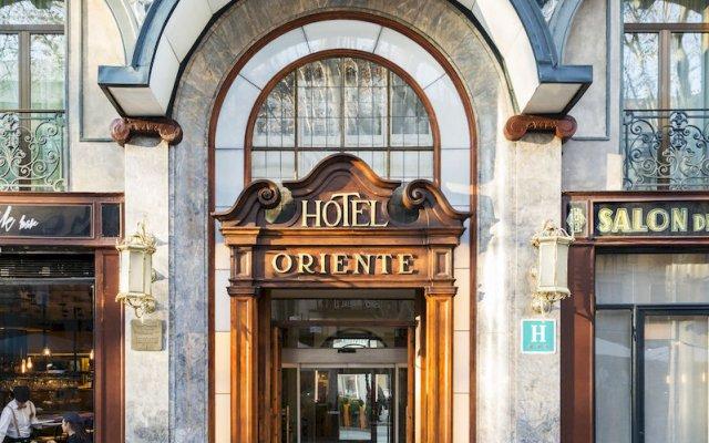 Oriente Atiram Hotel вход в здание